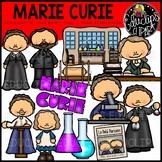 Marie Curie Clip Art Bundle {Educlips Clipart}