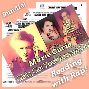 Marie Curie Female Scientist Famous Women in History Activities with Song