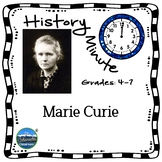 Marie Curie History Minute Cross Curricular History and Cl