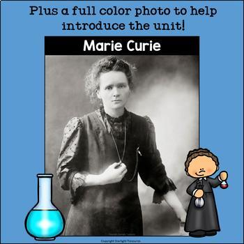 Marie Curie Mini Book for Early Readers: Women's History Month