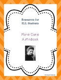 Marie Curie Minibook for ELL Students