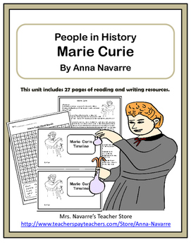 Marie Curie - People in History