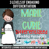Marie Curie Reading Passages Leveled Texts