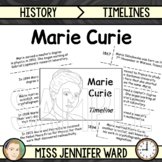 Marie Curie Timeline Activity