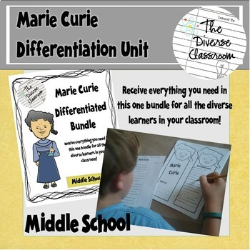Marie Curie Women in Science Differentiated Unit