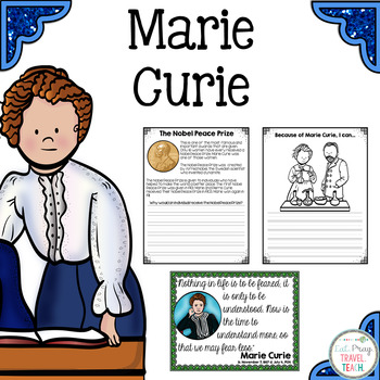 Marie Curie for Primary Grades