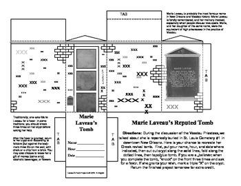 LOUISIANA - Marie Laveau's N.O. Tomb
