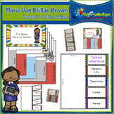 Marie Van Brittan Brown Interactive Foldable Booklets - Black History Month