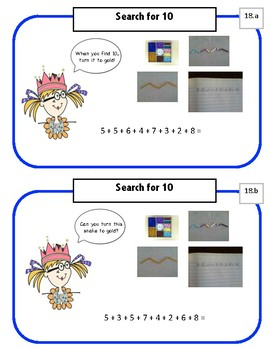 Marigold Math - A Visual Math Program - 1st Grade - set 4