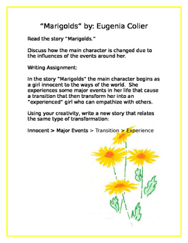 Marigolds Creative Writing
