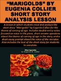 """Marigolds"" by Eugenia Collier Short Story Analysis Lesson"