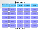 Marigolds Jeopardy Review
