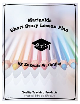 Lesson: Marigolds by Eugenia Collier Lesson Plan, Worksheets, Key
