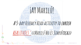 Marilú No Es Simpática.  ¡Ay Marilú! - A Fluency Read Activity