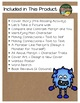 Marilyn's Monster by Michelle Knudsen 12 Book Extension Activities NO PREP