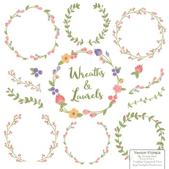 Marina Wildflowers Floral Wreaths & Laurels