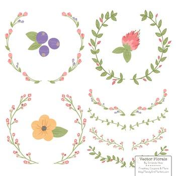 Marina Wildflowers Floral Wreaths & Laurels