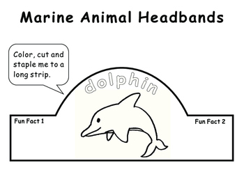 Marine Animal Headbands