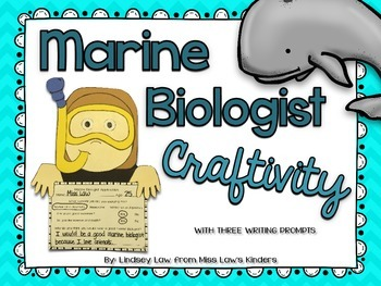 Marine Biologist Craftivity