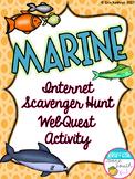 Marine Biome Internet Scavenger Hunt WebQuest Activity