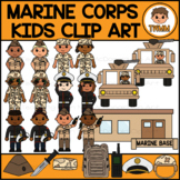 Marine Corps Kids l Armed Forces & Community Helpers Clipa