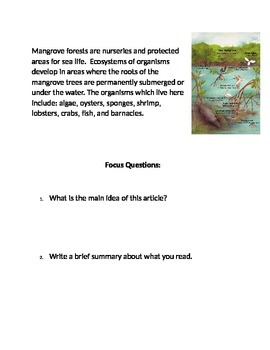 Marine Ecosystems Collection 2