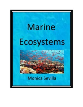 Marine Ecosystems Common Core Workbook