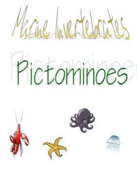Marine Invertebrates Pictominoes