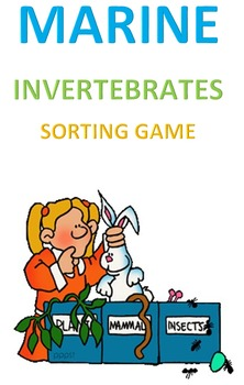Marine Invertebrates Sorting Game