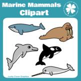 Marine Mammals Clipart