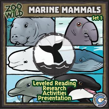 Marine Mammals - Zoo Wild Bundle - Leveled Reading, Slides & Activities