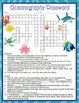 Marine Oceanography Activities Crossword Puzzle and Word Search Find