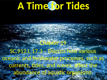 Marine Science - A Time for Tides
