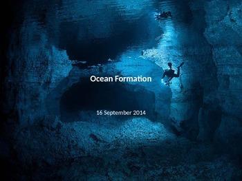 Marine Science - Ocean Formation
