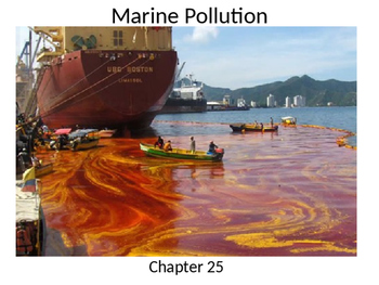 Marine Science - Ocean Pollution