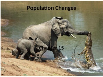 Marine Science - Population Changes and Evolution