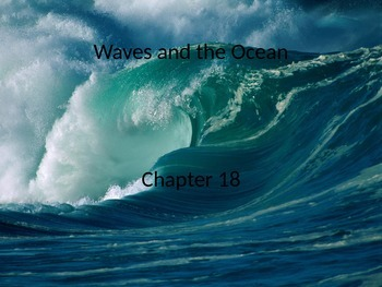 Marine Science - Waves and the Ocean