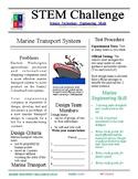 Marine Transportation STEM Challenge - 7th grade