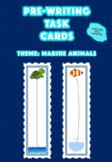 Marine themed Pre writing task cards   Marine Fine Motor A
