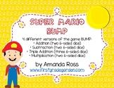 Mario BUMP Math Game {Addition, Subtraction, & Multiplication}