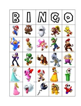 Mario Bingo