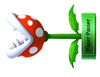 Mario Brothers Job Chart