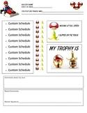 Mario Cart Behavior Chart