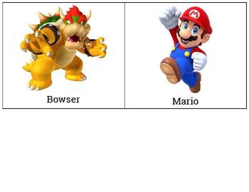 Mario Kart Coordinate Graphing