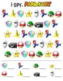 Mario Kart I Spy