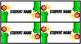 Mario Kart Themed Editable Name Tags
