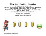 Mario Math Mania Task Cards (NBT)