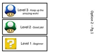 Whole Brain Teaching Super Improver Wall - Mario Theme