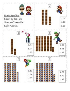 Mario Place Value