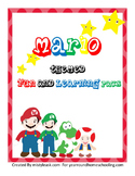 Mario Themed Learning Pack